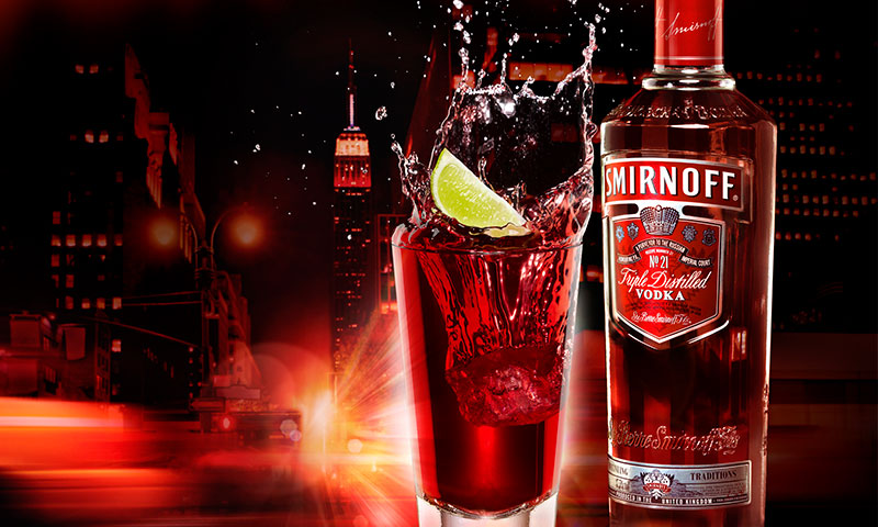 Smirnoff World's Best Drinks Campaign