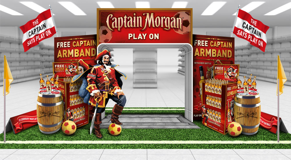 Captain Morgan's Spiced Shopper Promotion