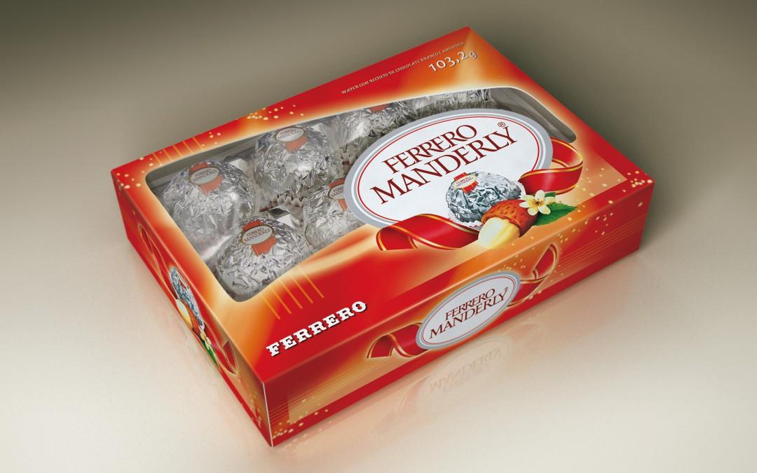Ferrero Manderly Packaging