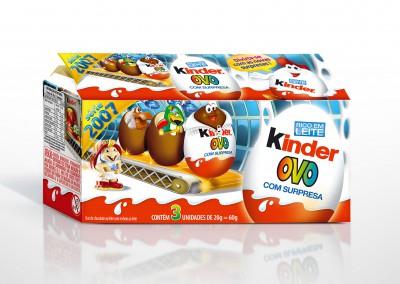 Kinder Ovo Packaging 2007