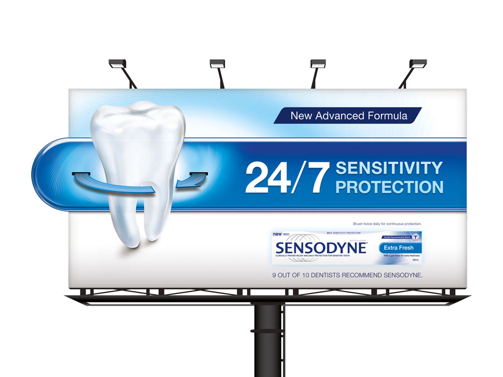 Sensodyne 24/7 Campaign