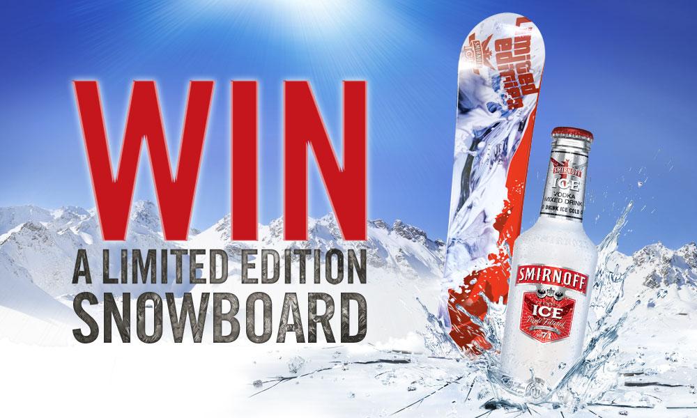 Smirnoff Ice Snowboard Promotion