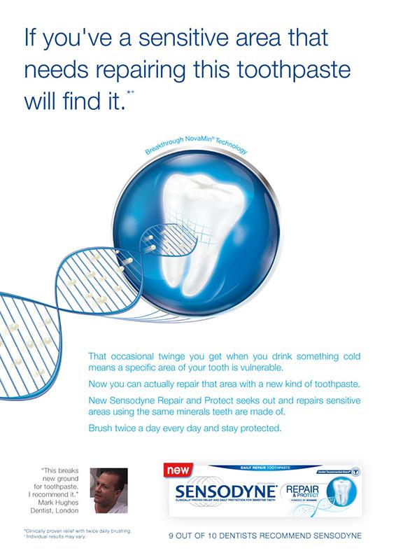 Sensodyne Repair & Protect Launch