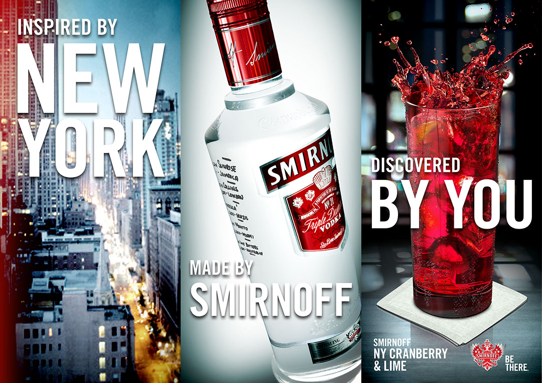 Smirnoff World's Best Drinks Initial Studies