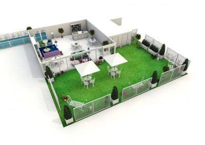 Barclays Wealth 3D Visuals