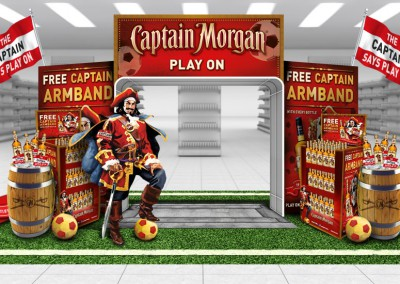 Captain Morgan's Spiced Shopper Promotion