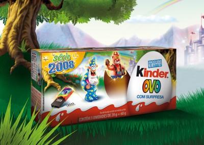 Kinder Ovo Packaging 2008