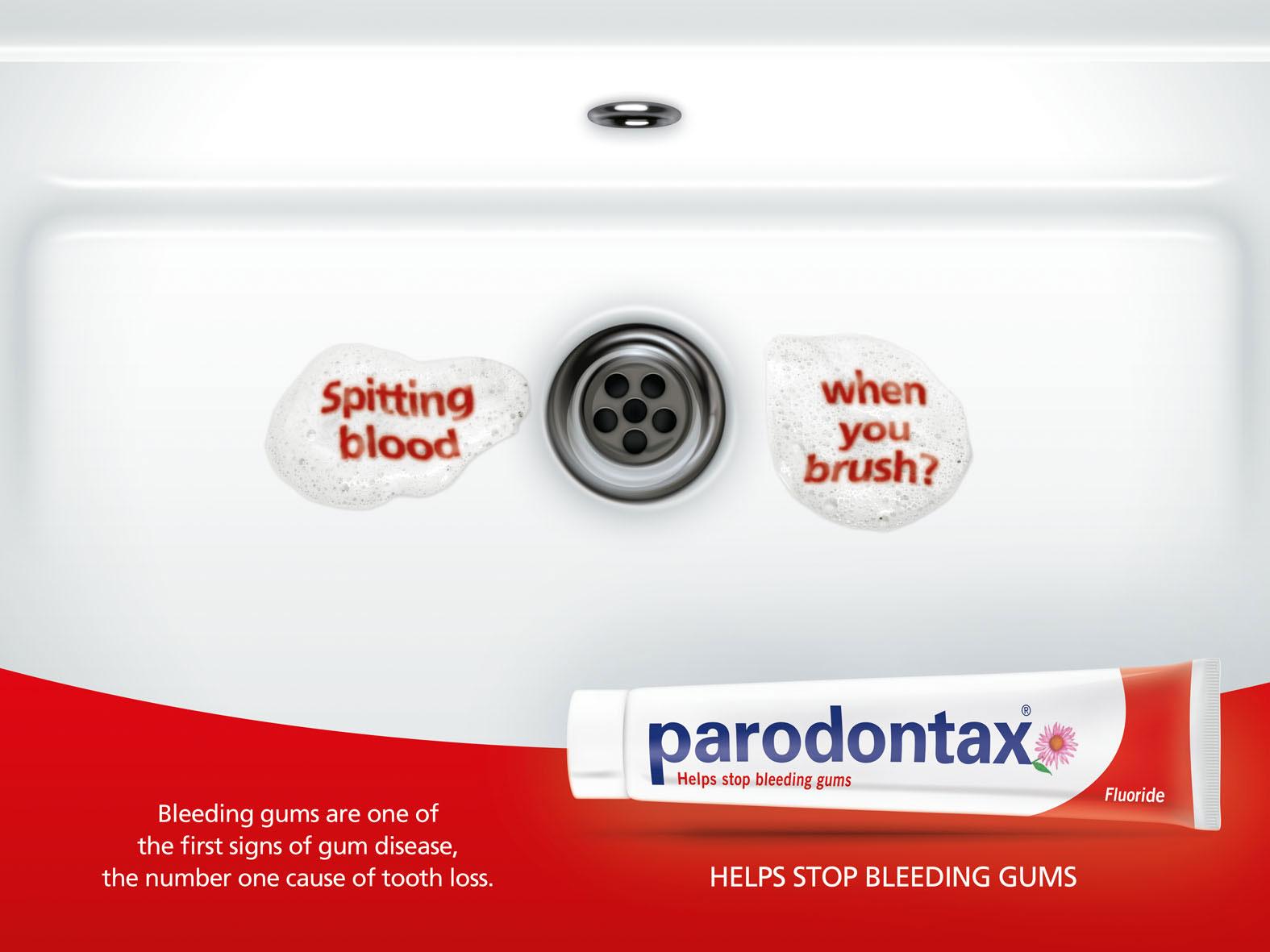 Parodontax Key Visual