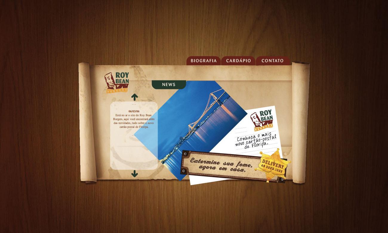 Roy Bean Website