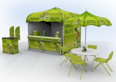 Smirnoff and Pampero Mojito Pop Up Experience