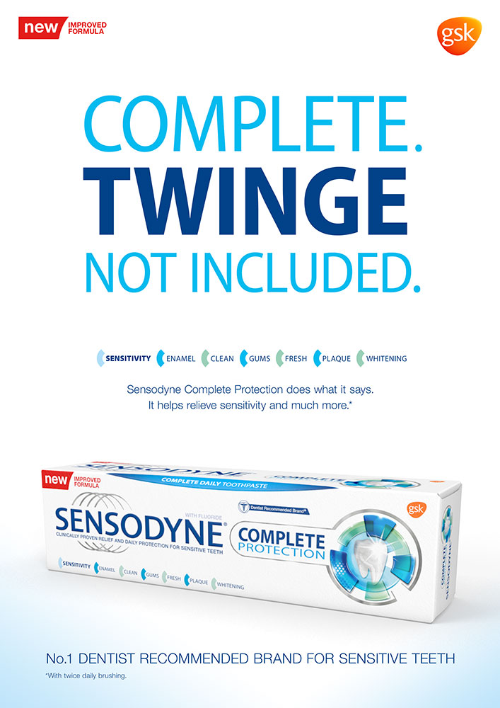 Sensodyne Complete Protection Launch