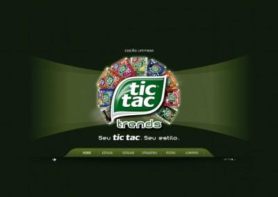 Tic Tac Trends Website