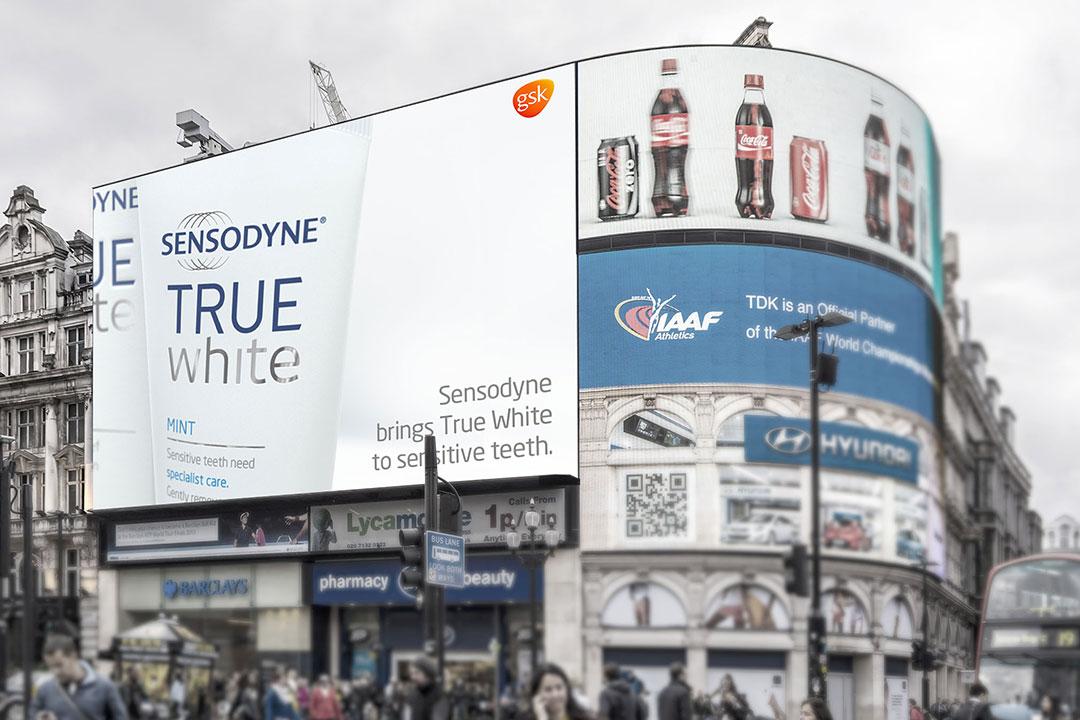 Sensodyne True White Launch